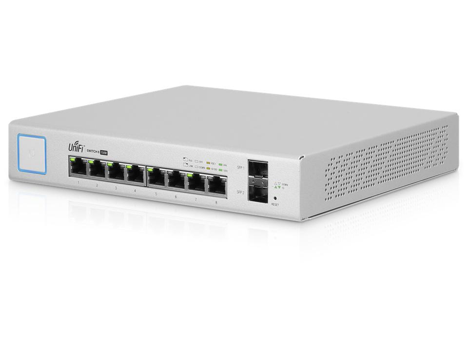 UBIQUITI Unifi Switch 8GE Ports POE 150W
