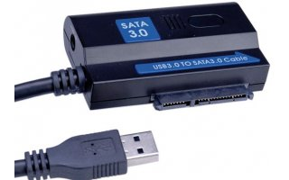VALUE USB 3.0 to SATA 6.0 Gbit/s Adapter 1.2 m